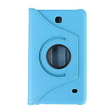 360 fokban forgatható pu bőr okos tok Samsung Galaxy Tab 7,0 / tab 4 7.0 / tab 3 7.0 / fül 3 lite (vegyes színek)