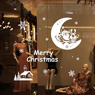 정물 로맨스 모양 크리스마스 벽 스티커 플레인 월스티커 데코레이티브 월 스티커, 비닐 홈 장식 벽 데칼 벽