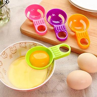 mini tojásfehérje tojássárgája elválasztó gyakorlati tojás vitellus fehér elválasztó edények főzés véletlenszerű szín