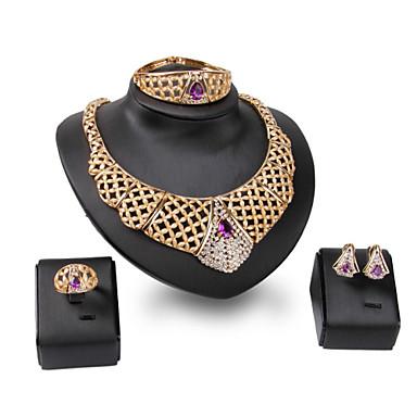 Pentru femei Seturi de bijuterii Mai multe pietre Ștras Personalizat Vintage Modă Euramerican Bijuterii Statement Nuntă Petrecere Ocazie
