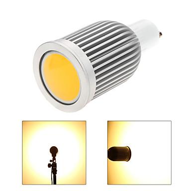 3000-3500/6000-6500lm GU10 LED szpotlámpák MR16 1 LED gyöngyök COB Tompítható Meleg fehér / Hideg fehér 110-130V / 220-240V