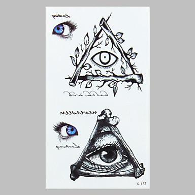 패션 문신 눈 방수 문신 스티커