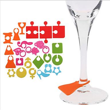 바 & 와인 도구 실리콘,12.5*8*0.2 포도주 부속품