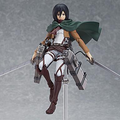 Attack on Titan Mikasa Ackermann PVC Anime Action Figures model Toys Doll Toy