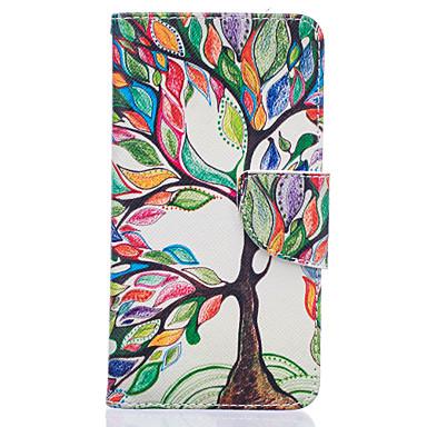 용 LG케이스 카드 홀더 / 지갑 / 스탠드 / 플립 / 패턴 케이스 풀 바디 케이스 나무 하드 인조 가죽 LG LG K10 / LG K7