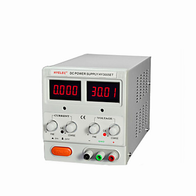 billige Strømforsyningsprodukter-hyelec hy3005et dc bærbar strømforsyning med LED-indikatorer