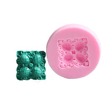 1db Újdonság Torta Műanyag DIY süteményformákba