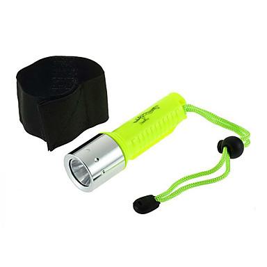 Dalış Fenerleri LED 800 lm 1 Kip LED Su Geçirmez Dalış/Kayakçılık Çok Fonksiyonlu