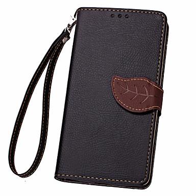 용 삼성 갤럭시 케이스 카드 홀더 / 지갑 / 스탠드 / 플립 케이스 풀 바디 케이스 단색 인조 가죽 Samsung Core