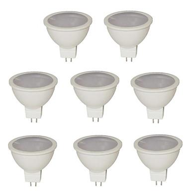 500 lm GU5.3(MR16) LED Σποτάκια MR16 21 LED χάντρες SMD 2835 Θερμό Λευκό / Ψυχρό Λευκό / Φυσικό Λευκό 12 V / RoHs