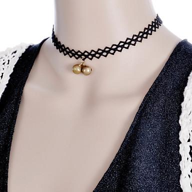 목걸이 초커 목걸이 보석류 블랙 합금 일상 / 캐쥬얼 1PC 선물