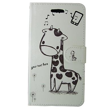Mert Samsung Galaxy tok Kártyatartó / Pénztárca / Állvánnyal / Flip / Minta Case Teljes védelem Case Állat Műbőr SamsungS7 / S6 edge / S6