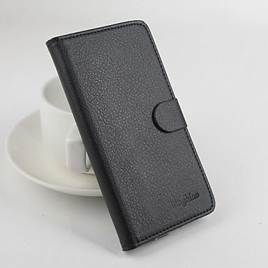 Para Capinhas OnePlus Carteira / Porta-Cartão / Com Suporte / Flip / Magnética Capinha Corpo Inteiro Capinha Cor Única Rígida Couro PUOne