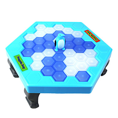 Board game paternity games puzzle table games save penguin for Ice block construction