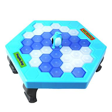 보드 게임 친목 게임 퍼즐 테이블 게임 창조적 노블티 펭귄 PVC ABS 조각 남아 선물