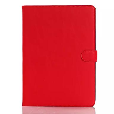 케이스 제품 iPad Air 2 스탠드 자동 슬립 / 웨이크 기능 전체 바디 케이스 한 색상 PU 가죽 용 iPad Air 2