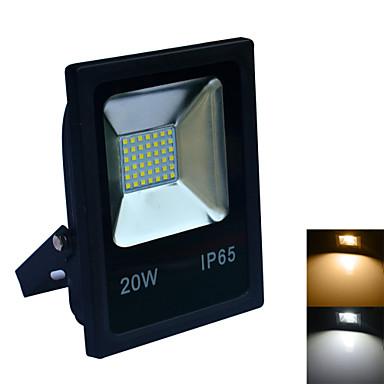 20W LED projektorok 42 SMD 2835 1600-1800 lm Meleg fehér / Hideg fehér Vízálló AC 220-240 V 1 db.