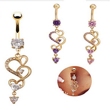여성용 바디 쥬얼리 Navel & Bell Button Rings 유니크 디자인 파티 캐쥬얼 패션 스테인레스 합금 기타 보석류 제품 캐쥬얼