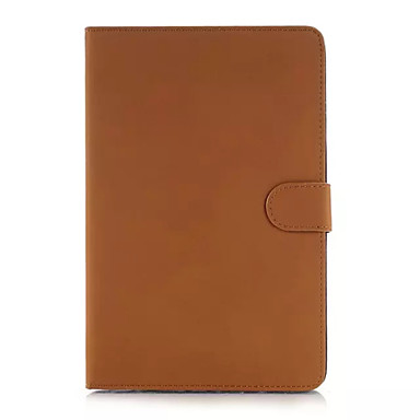 케이스 제품 iPad Air 스탠드 자동 슬립 / 웨이크 기능 마그네틱 전체 바디 케이스 솔리드 PU 가죽 용 iPad Air