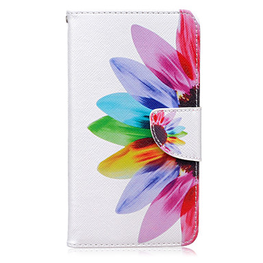 napraforgó minta kártya telefon tokba Huawei tiszteletére 5x / emelkedni P9 / Emelkedés P9 lite