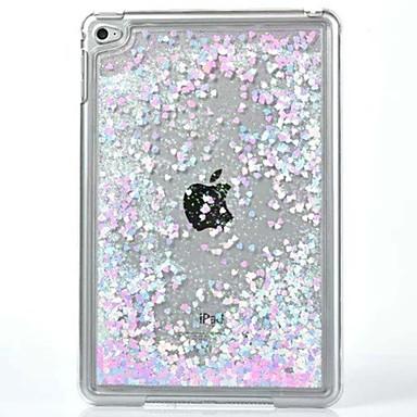 케이스 제품 아이 패드 미니 4 투명 패턴 뒷면 커버 글리터 샤인 PC 용 iPad Mini 4