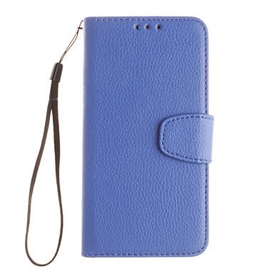 Mert Samsung Galaxy tok Kártyatartó / Állvánnyal / Flip Case Teljes védelem Case Egyszínű Műbőr SamsungJ5 (2016) / J5 / J3 / J2 / J1
