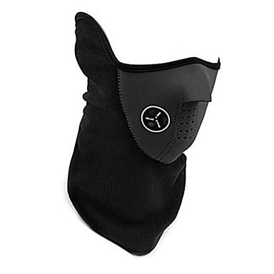 Bisiklet / Bisiklet Yüz Maskesi Unisex Kayakçılık / Bisiklete biniciliği / Bisiklet / Kış Sporları Sıcak / Sıcak Tutma / Rüzgar Geçirmez
