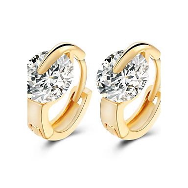 Beszúrós fülbevalók Divat Születési kövek Ötvözet Ezüst Aranyozott Ékszerek Mert Esküvő Parti Napi Hétköznapi 1 pár
