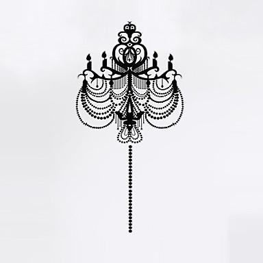 보태니컬 / 카툰 / 로맨스 / 정물화 / 패션 / 휴일 / 풍경 / 모양 / 판타지 벽 스티커 플레인 월스티커,PVC 60cm x 49cm ( 24in x 19in )