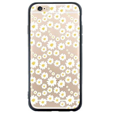 용 아이폰5케이스 케이스 커버 투명 패턴 뒷면 커버 케이스 꽃장식 소프트 TPU 용 Apple iPhone SE/5s iPhone 5