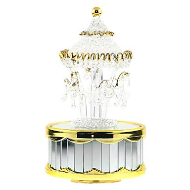 Zenedoboz Játékok Kacsa Henger alakú Zongora Ló Körhinta Darabok Fiú Lány Születésnap Valentin nap Ajándék