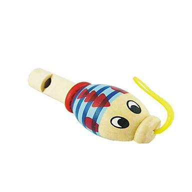 lemn fluier animale copil aleatoriu pentru copii peste 3 instrumente muzicale de jucărie de livrare aleatoare