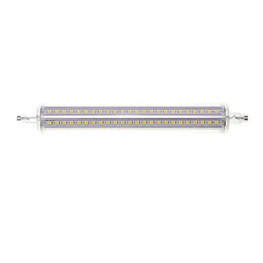 15W R7S LED 투광 조명 매립형 레트로핏 144 SMD 2835 1500-1600 lm 따뜻한 화이트 / 차가운 화이트 장식 AC 85-265 V 1개