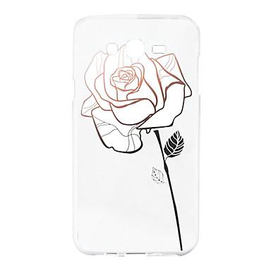 Case Kompatibilitás Samsung Galaxy tok Minta Hátlap Virág Puha Szilikon mert J5