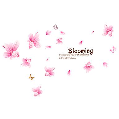보태니컬 / 카툰 / 워드&인용구(부호) / 로맨스 / 정물화 / 패션 / 플로럴 / 레져 벽 스티커 플레인 월스티커,PVC 70*50*0.1