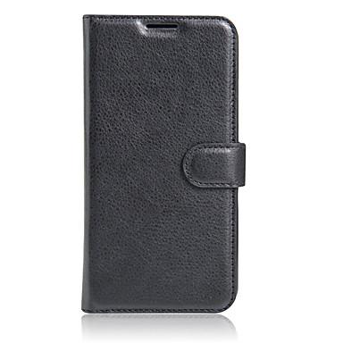 Case Kompatibilitás Samsung Galaxy S7 Edge Kártyatartó / Pénztárca / Állvánnyal Héjtok Egyszínű Kemény PU bőr mert S7 edge