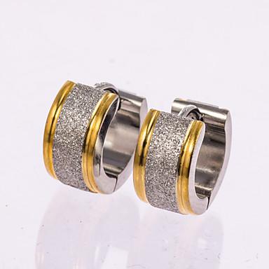 Pentru femei Cercei Rotunzi Design Basic Clasic Oțel inoxidabil Round Shape Bijuterii PentruNuntă Petrecere Zi de Naștere Petrecere /