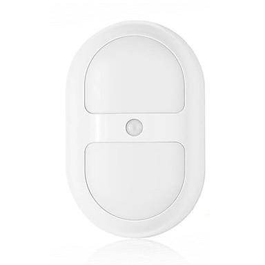 1 w meleg fehér / hideg fehér akkumulátor érzékelőt éjszakai fény 5V műanyag