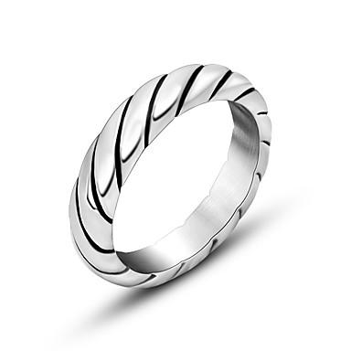 Gyűrűk Divat Napi Ékszerek Karikagyűrűk 1db,Egy méret Ezüst