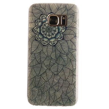 Mert Samsung Galaxy S7 Edge Minta Case Hátlap Case Mandala Puha TPUS7 edge / S7 / S6 edge / S6 / S5 Mini / S5 / S4 Mini / S4 / S3 Mini /