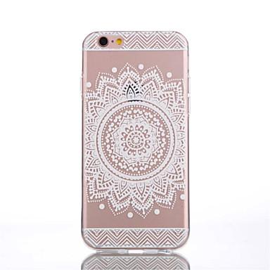 제품 iPhone 8 iPhone 8 Plus iPhone 6 iPhone 6 Plus 케이스 커버 투명 뒷면 커버 케이스 꽃장식 소프트 TPU 용 iPhone 8 Plus iPhone 8 아이폰 7 플러스 아이폰 (7) iPhone 6s