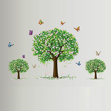 애니멀 / 보태니컬 / 로맨스 / 정물화 / 패션 / 플로럴 / 레져 벽 스티커 플레인 월스티커,PVC 90*60*0.1