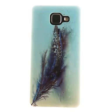 Case Kompatibilitás Samsung Galaxy Samsung Galaxy tok IMD Minta Fekete tok Tollak Puha TPU mert A7(2016) A5(2016) A3(2016) A5 A3