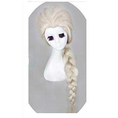 Perucas sintéticas Ondulado Densidade Sem Touca Mulheres Peruca de carnaval Peruca de Halloween Longo Cabelo Sintético