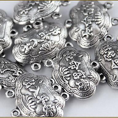 női szerencsés zár ezüst ötvözet varázsa diy ékszer