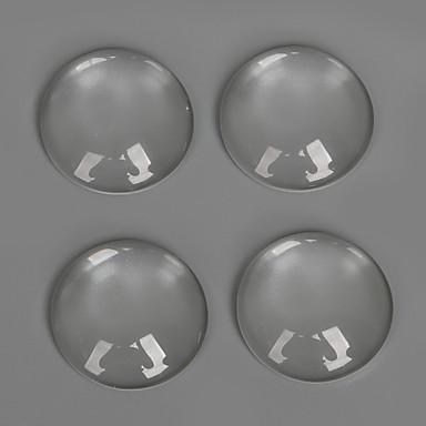 챰 유리 / Plastic Round Shape 투명한 20Pcs