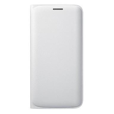 Case Kompatibilitás Samsung Galaxy Samsung Galaxy S7 Edge Kártyatartó Flip Fekete tok Tömör szín Puha Szilikon mert S7 edge S7