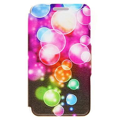 용 아이폰6케이스 / 아이폰6플러스 케이스 카드 홀더 / 스탠드 케이스 풀 바디 케이스 기하학 패턴 하드 인조 가죽 Apple iPhone 6s Plus/6 Plus / iPhone 6s/6 / iPhone SE/5s/5
