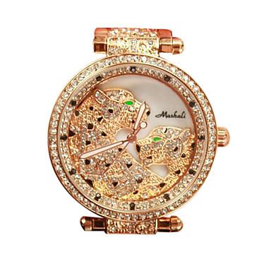 여성용 드레스 시계 패션 시계 모조 다이아몬드 시계 페이브 시계 석영 일본 쿼츠 캐쥬얼 시계 모조 다이아몬드 스테인레스 스틸 밴드 실버 골드 로즈 골드