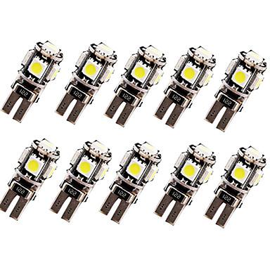 SO.K 10pçs T10 Carro Lâmpadas 2.5 W 120 lm LED Lâmpada de Seta For Universal